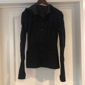 Reversible Lululemon Hooded Zip Jacket